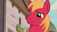 Big McIntosh surprised to see Apple Bloom S7E8