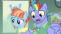 Bow Hothoof -collection of Wonderbolt memorabilia- S7E7
