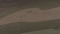 Cave ceiling starting to crack S7E4
