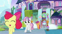 Crusaders and Cozy leaving the school S8E12