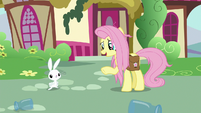 "Fluttershy ""I wonder what it's gonna do"" S9E18"