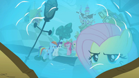 Fluttershy angry reflection S02E01