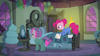 "Pinkie Pie ""don't be so hard on yourself"" S7E4"