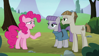 "Pinkie Pie ""how did you two meet?"" S8E3"