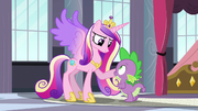 Princess Cadance trusting Spike S5E10