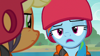 Rainbow Dash -I'm pretty sure- S8E9