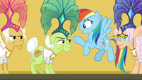 Rainbow Dash -you were in danger!- S8E5