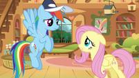Rainbow Dash Fluttershy Hat S02E22