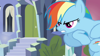 Rainbow Dash getting angry S3E1