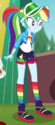 Rainbow Dash music festival wear ID EGDS44