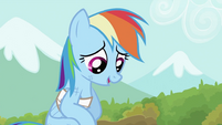 Rainbow Dash thanking Tank S2E07