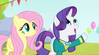 Rarity 'without any sort of drama' S4E14