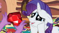 Rarity dazed cuteness S2E10