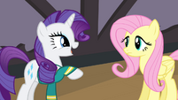Rarity talking to Fluttershy S4E14