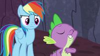 Spike -friendship ambassador to the dragons- S7E25
