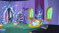 Spike sleeping soundly in his castle bedroom S5E7.png