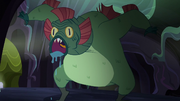 Swamp monster emerges from the shadows S5E21