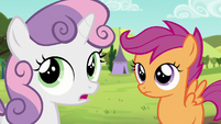 Sweetie -I thought Apple Bloom was gonna be here too- S5E17