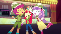 The Cutie Mark Crusaders high-five SS11