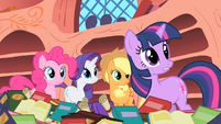 Twilight -What are you two arguing about-- S1E16