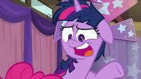 "Twilight Sparkle ""sorry, Pinkie"" S9E16"