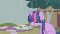 Twilight Sparkle wet and angry S1E03