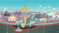 Wide view of Equestria Land EGROF