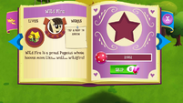 Wild Fire album page MLP mobile game