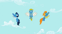 Wonderbolts Arrive S02E10