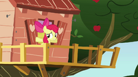 Apple Bloom about to close window S3E04