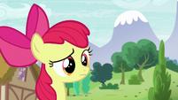 Apple Bloom hears something S6E4