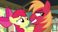 Big Mac smiles deviously S5E17
