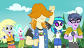 CHS campers cheering for Rainbow Dash EG4.png