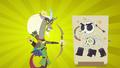 Captain Wuzz fires arrow through skeleton puppet S6E17.png