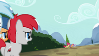 Cutie Mark Crusaders running away S4E15