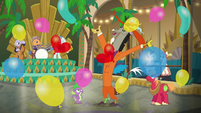 Discord makes it rain balloons S6E17