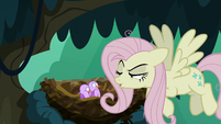 "Fake Fluttershy ""nopony asked you"" S8E13"