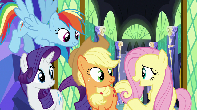 """File:Fluttershy """"fostering friendships is what ponies do"""" S7E11.png"""