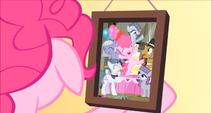 Foto familiar de Pinkie