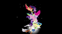Mane Seven plummeting into the abyss EGS3