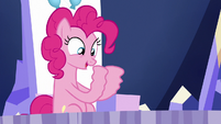 Pinkie Pie's hooves trembling S6E15