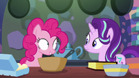 "Pinkie Pie ""what would you like to do first?"" S6E21"