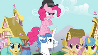 Pinkie Pie clone and Fancypants S3E3