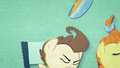Pound Cake knocks his bowl into the air BFHHS2.png