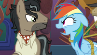 "Rainbow Dash ""you'll never get away with this!"" S6E13"