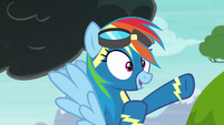 Rainbow Dash --I'll do some incredible-- S6E7
