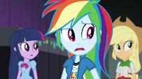 Rainbow Dash hears jeering crowd EG2
