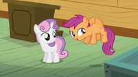 Scootaloo can fly in the dream world S5E4