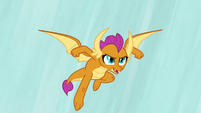Smolder leaping into the air S9E3