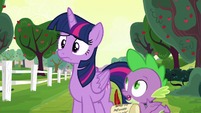 """Spike """"if they all blame each other"""" S6E22"""